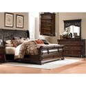 Liberty Furniture Arbor Place King Bedroom Group - Item Number: 575-BR-KSLDMC