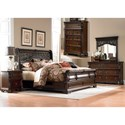 Liberty Furniture Arbor Place King Bedroom Group - Item Number: 575-BR-KSLDMCN