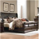 Liberty Furniture Arbor Place Queen Sleigh Bed - Item Number: 575-BR21F+H+90