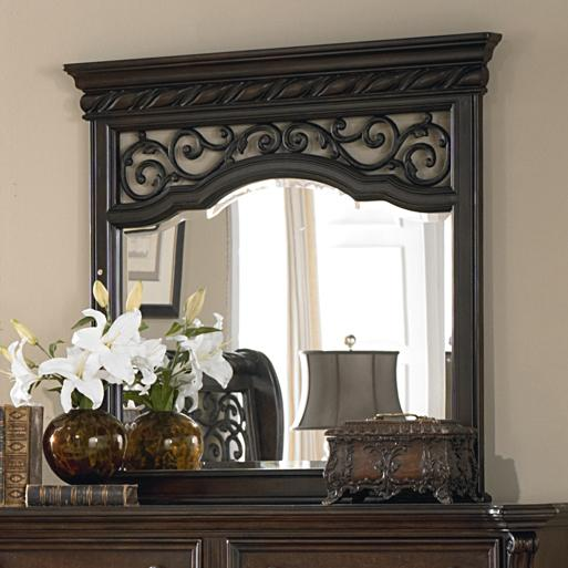 Arbor Place Landscape Mirror by Liberty Furniture at Steger's Furniture