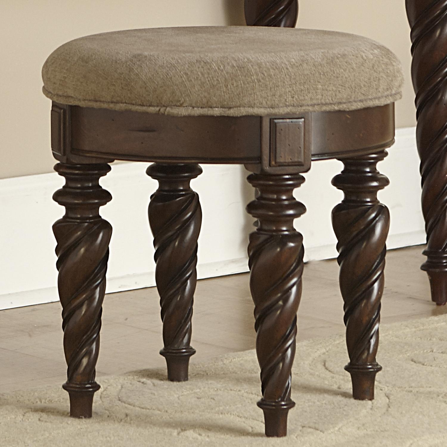 Liberty Furniture Arbor Place Vanity Stool - Item Number: 575-BR99