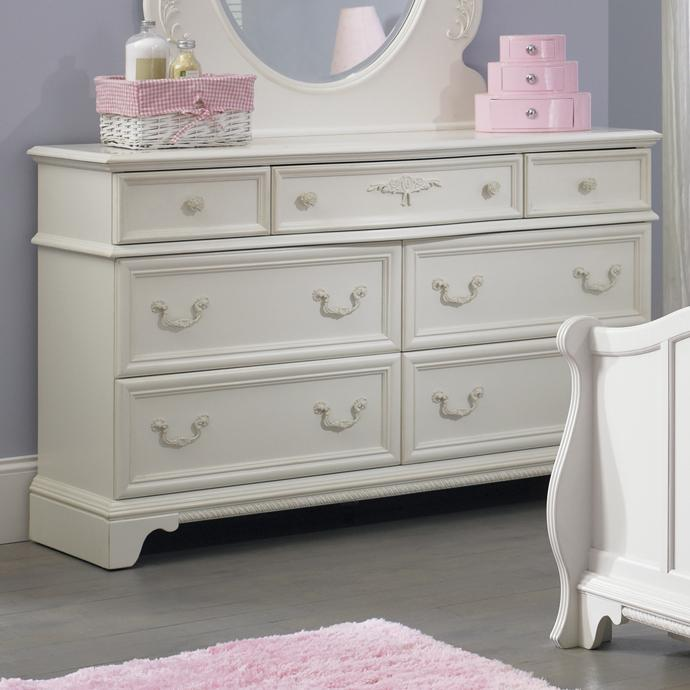 Liberty Furniture Arielle Youth Bedroom 7 Drawer Dresser - Item Number: 352-BR30