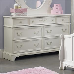 Liberty Furniture Arielle Youth Bedroom 7 Drawer Dresser