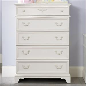 Vendor 5349 Arielle Youth Bedroom 5 Drawer Chest