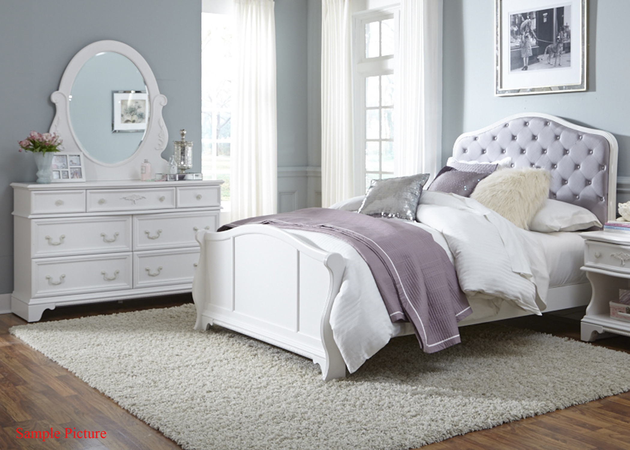 Liberty Furniture Arielle Youth Bedroom Full Bedroom Group - Item Number: 352-YBR-FPBDM