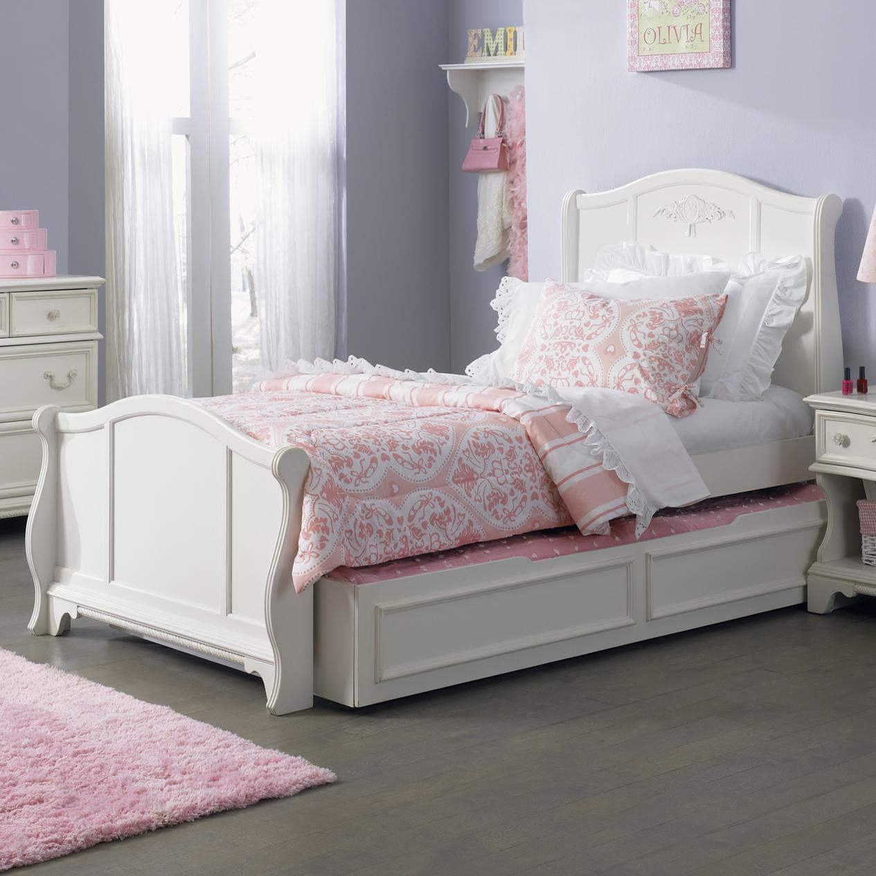 Liberty Furniture Arielle Youth Bedroom Twin Sleigh Bed - Item Number: 352-YBR-SET90