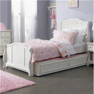 Vendor 5349 Arielle Youth Bedroom Twin Sleigh Bed