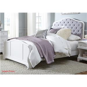 Vendor 5349 Arielle Youth Bedroom Twin Panel Bed