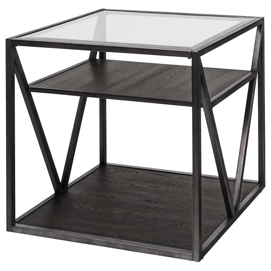 Arista Occasional End Table by Liberty Furniture at Furniture and ApplianceMart