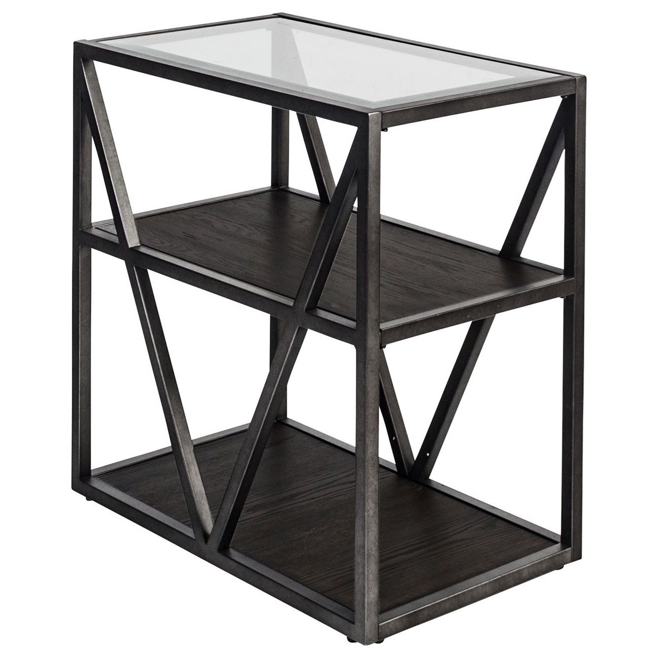 Arista Occasional Chair Side Table by Liberty Furniture at Furniture and ApplianceMart