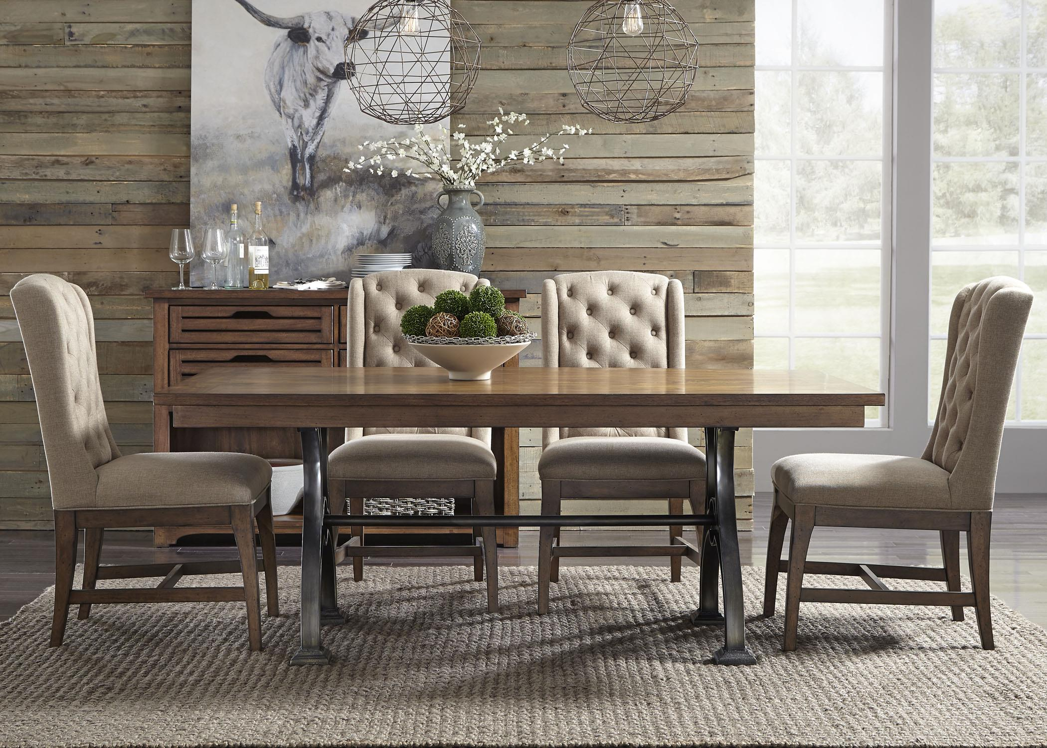 Liberty Furniture Emma Formal Dining Room Group - Item Number: 411 Dining Room Group 1