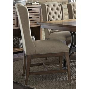 Liberty Furniture Arlington 411 Upholstered Host Chair