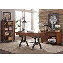 Liberty Furniture Arlington 411 Writing Desk with 3 Dovetail Drawers