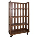 Liberty Furniture Arlington Open Bookcase - Item Number: 411-HO201