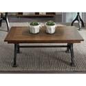 Liberty Furniture Arlington Rectangular Cocktail Table - Item Number: 411-OT1010