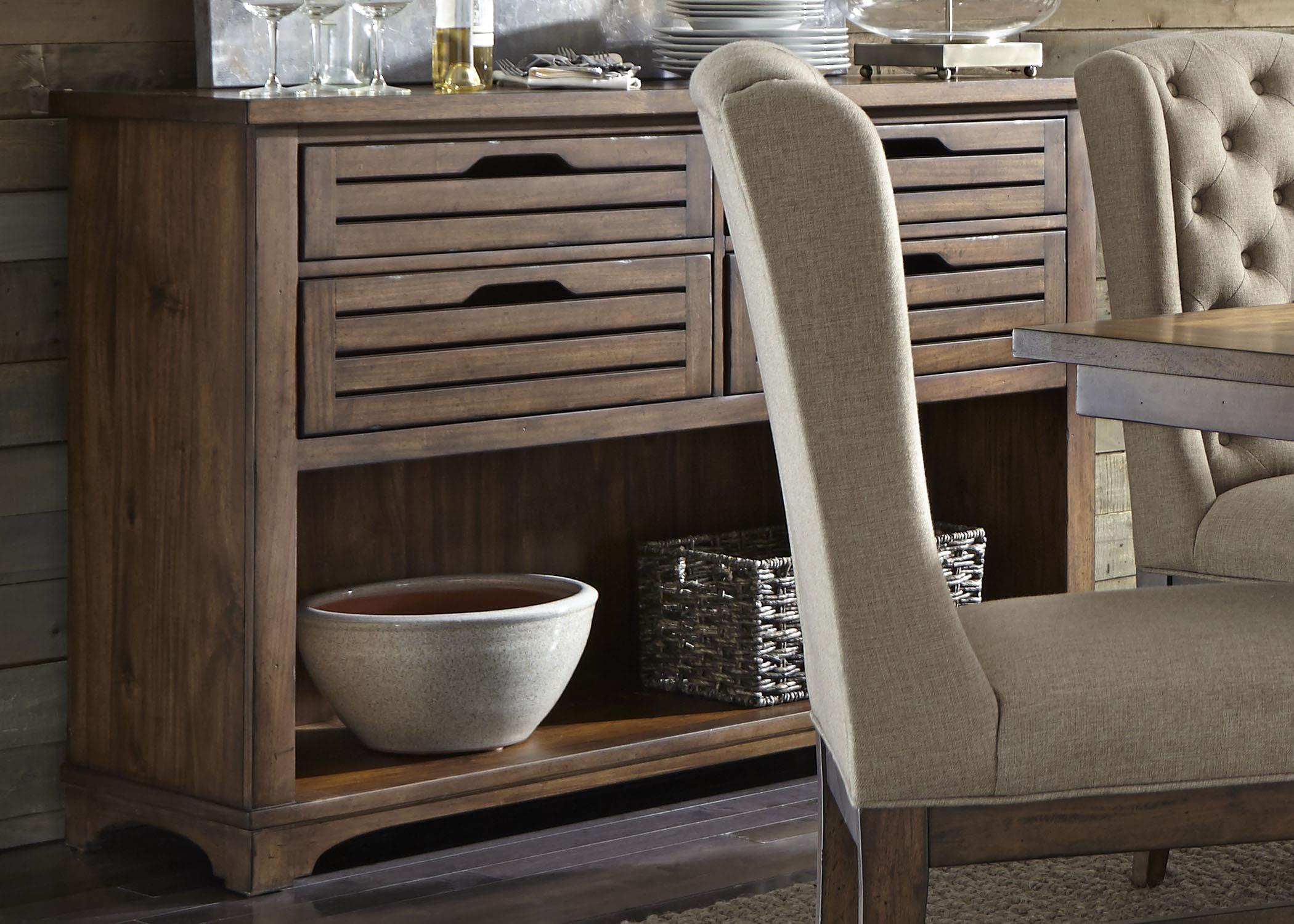 Liberty Furniture Arlington 411 Server - Item Number: 411-SR5638