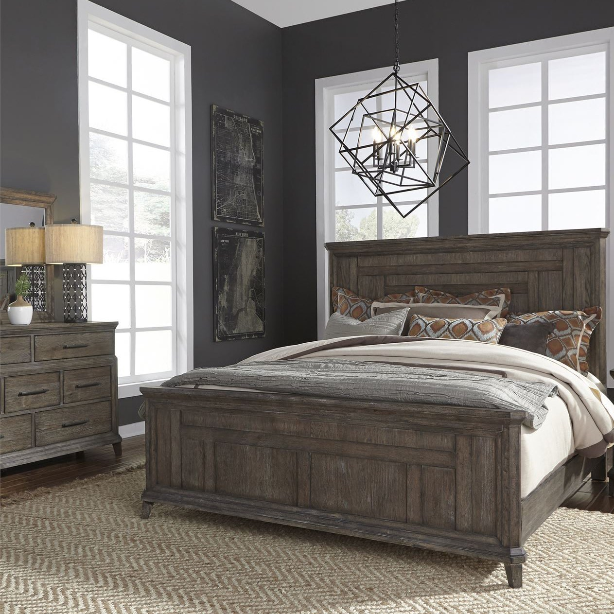 Artisan Prairie King Bedroom Group by Liberty Furniture at Furniture and ApplianceMart