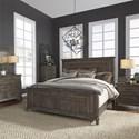 Liberty Furniture Artisan Prairie King Bedroom Group - Item Number: 823-BR-KPBDMCN