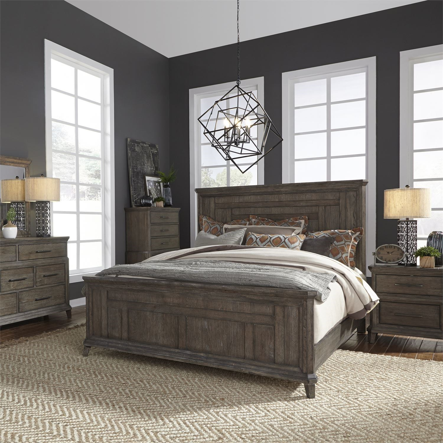 Artisan Prairie Queen Bedroom Group by Liberty Furniture at Zak's Home