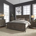 Liberty Furniture Artisan Prairie Queen Bedroom Group - Item Number: 823-BR-QPBDMCN