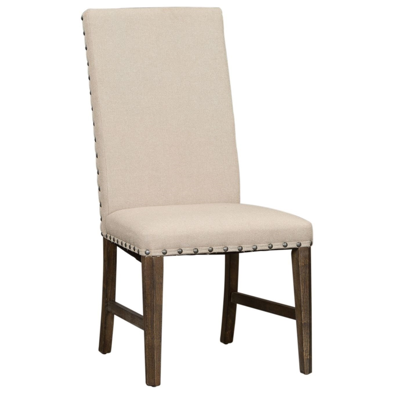 Artisan Prairie Upholstered Side Chair by Liberty Furniture at Furniture and ApplianceMart