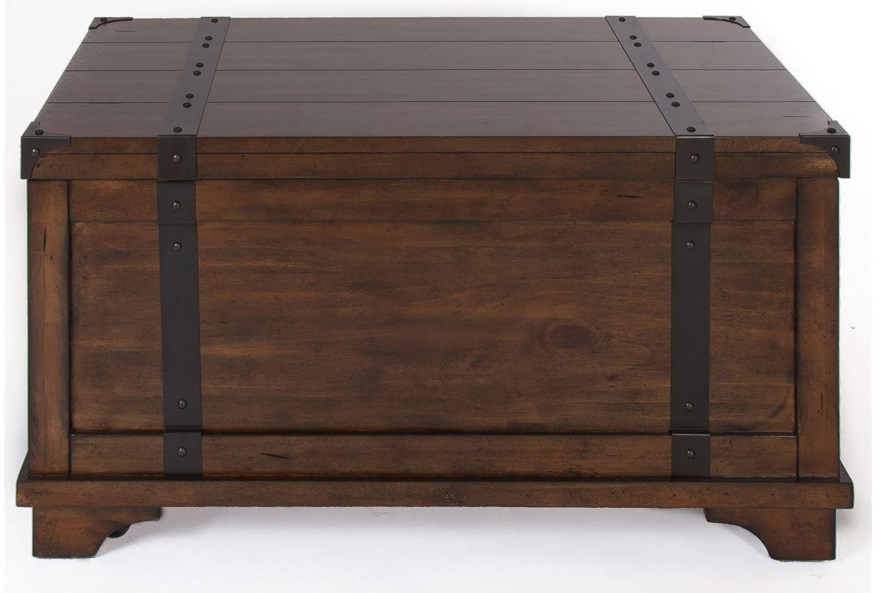 Aspen Skies Storage Trunk by Freedom Furniture at Ruby Gordon Home