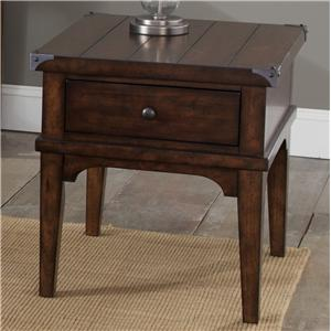 Liberty Furniture Aspen Skies-Occ End Table