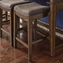 Liberty Furniture Aspen Skies Upholstered Barstool - Item Number: 316-OT9001