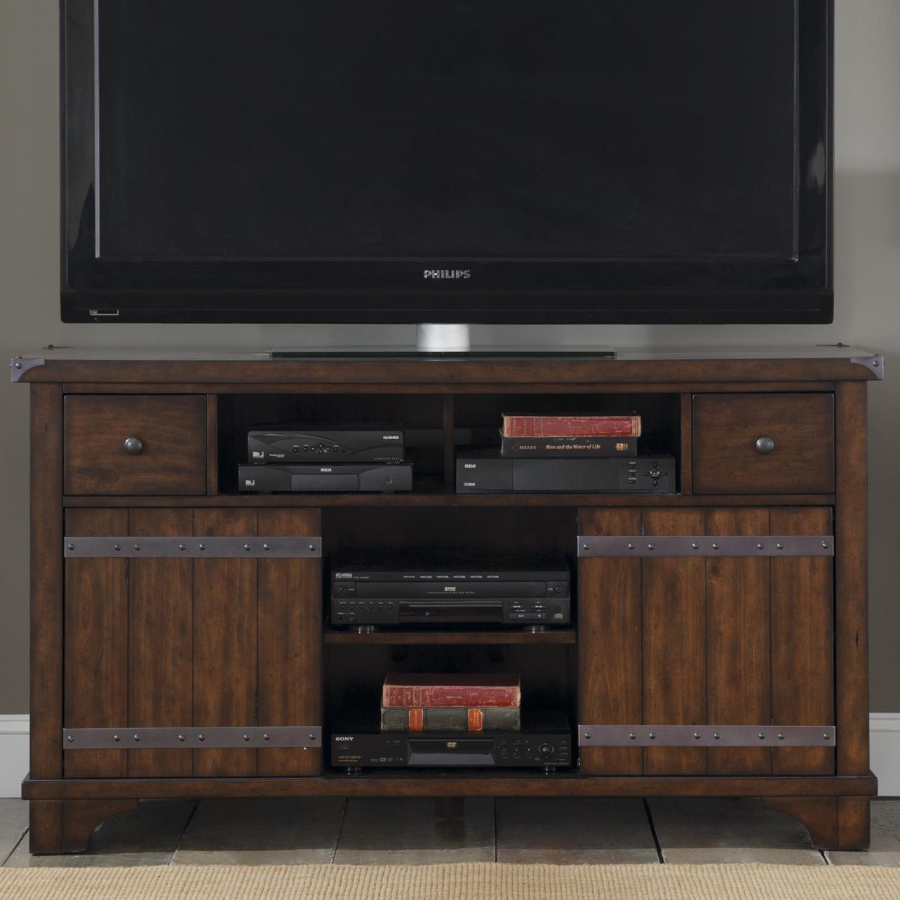 Liberty Furniture Aspen Skies TV Console - Item Number: 316-TV60