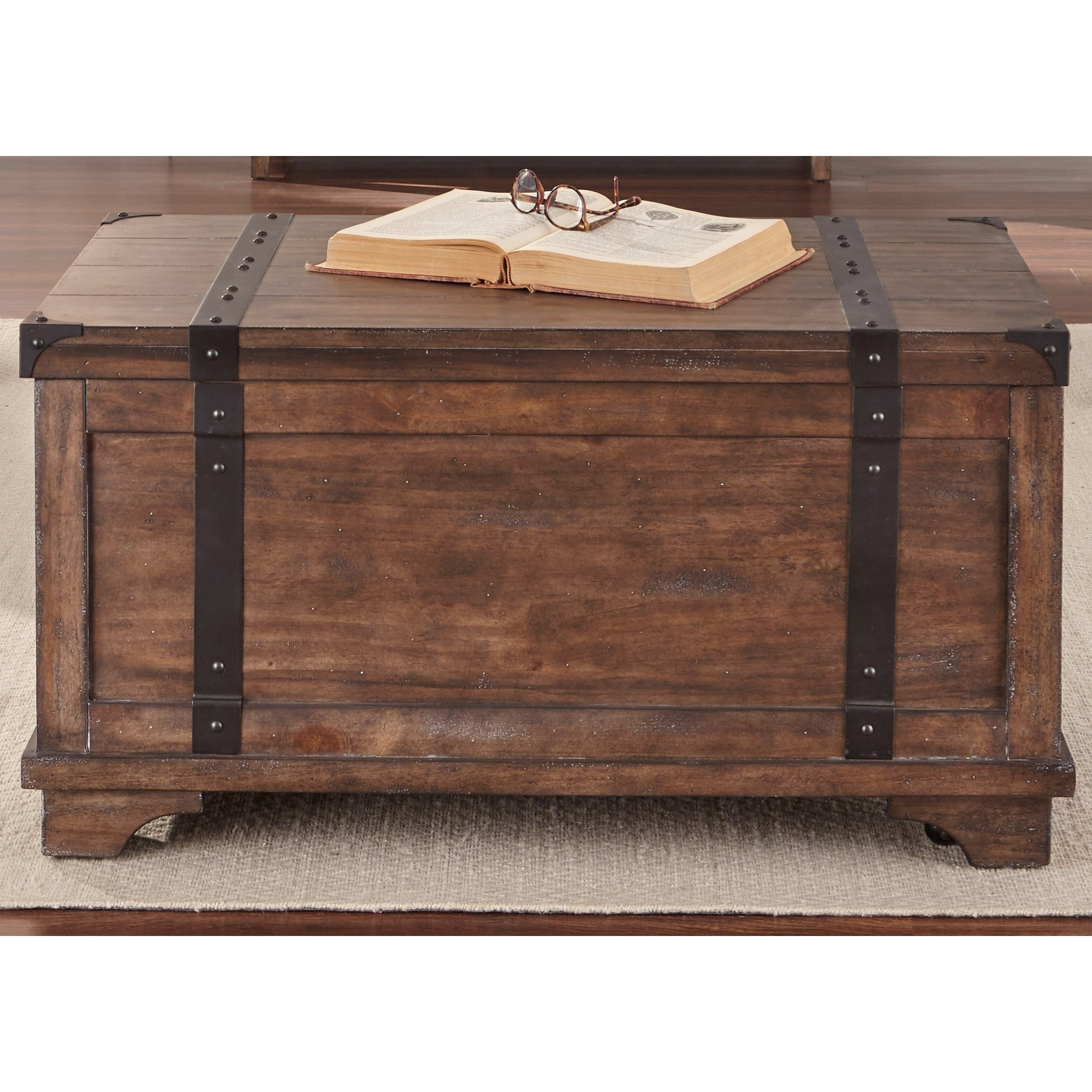 Aspen Skies Storage Trunk by Liberty Furniture at Miller Waldrop Furniture and Decor