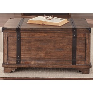 Liberty Furniture Aspen Skies Storage Trunk