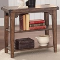 Liberty Furniture Aspen Skies Chairside End Table - Item Number: 416-OT1021