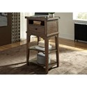Liberty Furniture Aspen Skies Stand Alone Laptop Desk - Item Number: 416-OT5000
