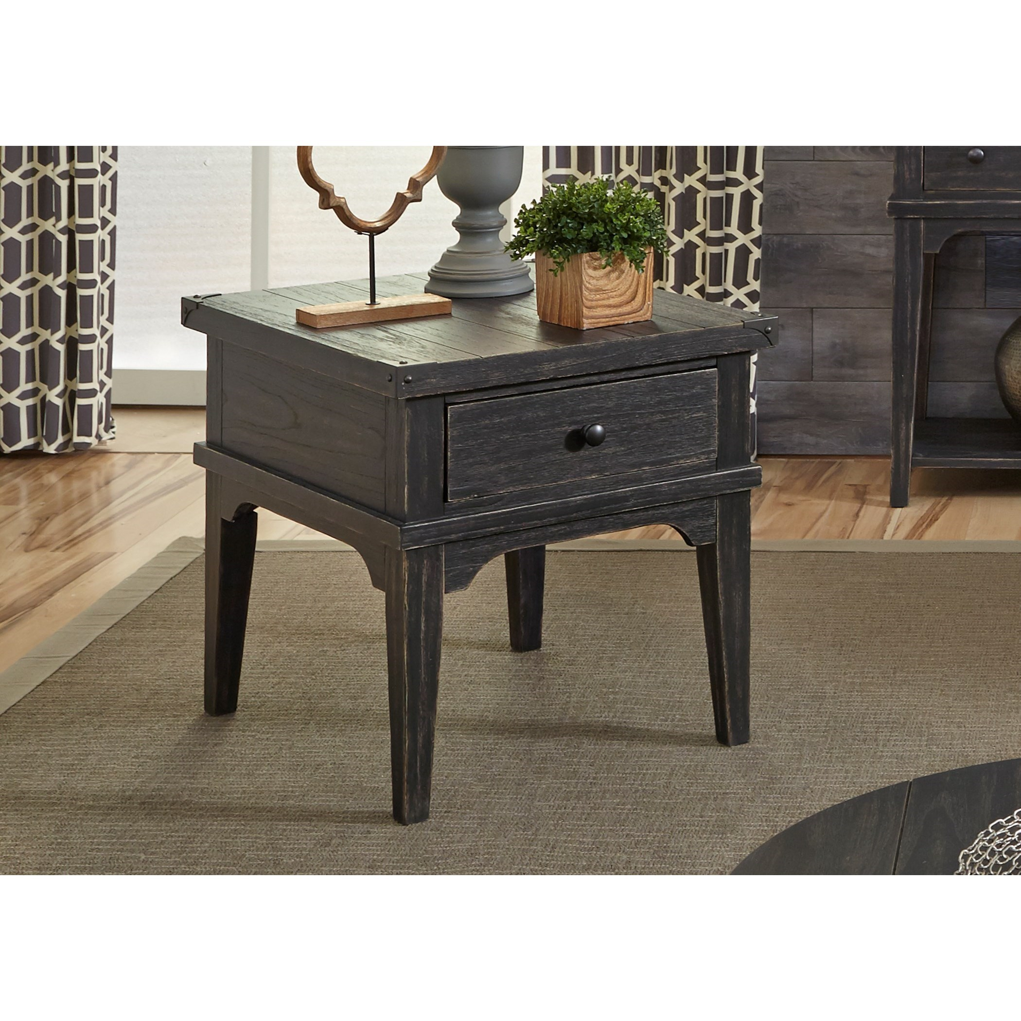 Liberty Furniture Aspen Skies End Table - Item Number: 516-OT1020