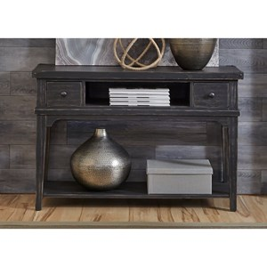 Liberty Furniture Aspen Skies Sofa Table