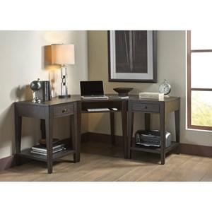 Liberty Furniture Autumn Oaks II L shape Desk