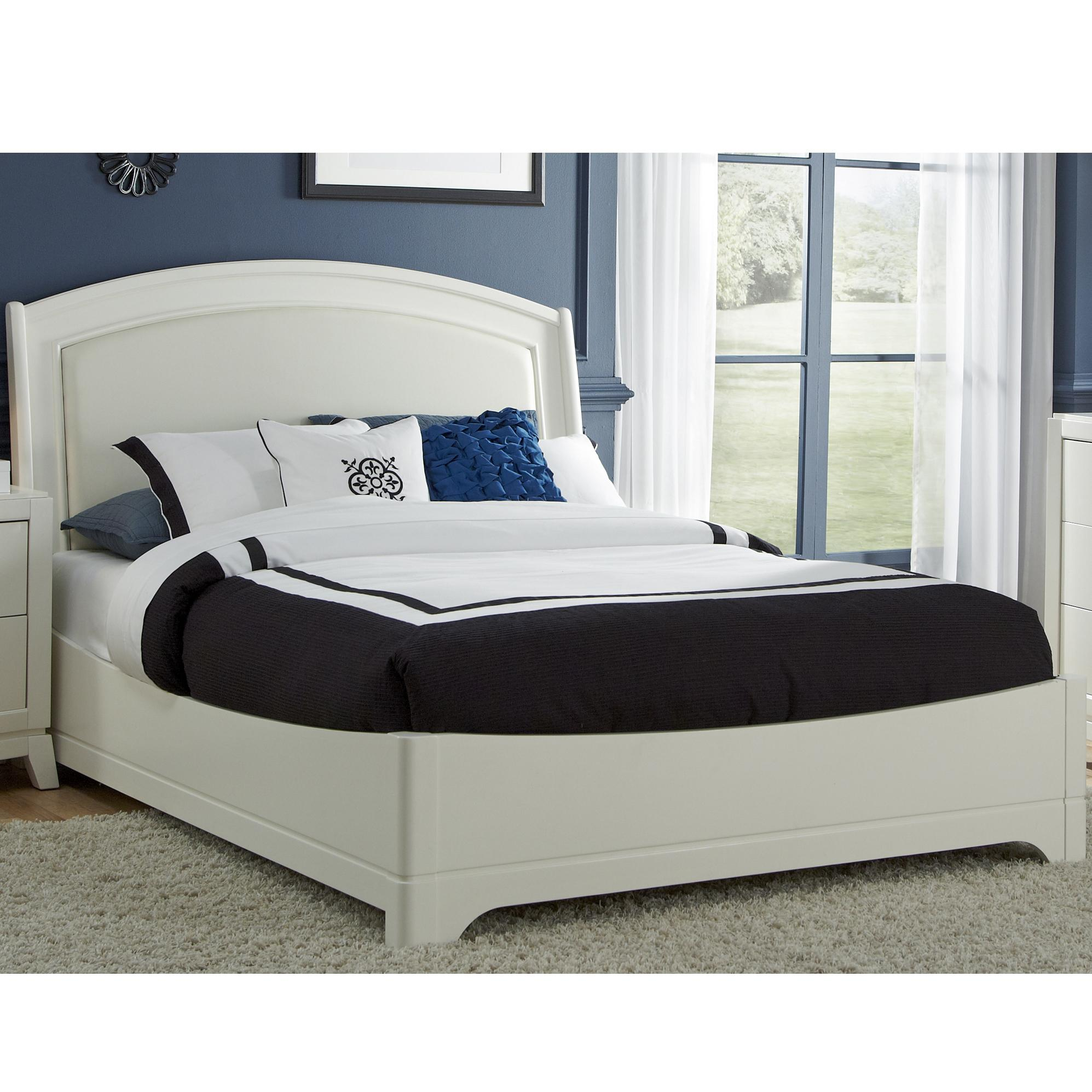 Liberty Furniture Avalon II Queen Leather Bed - Item Number: 205-BR-QLB