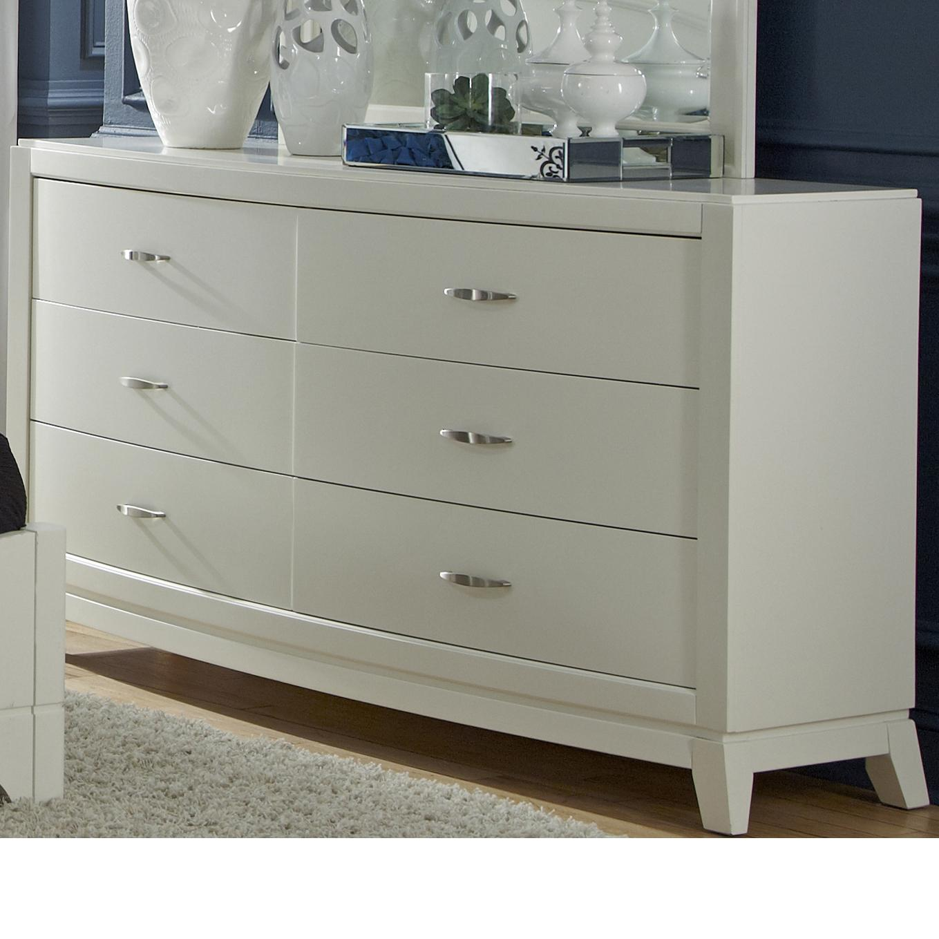 Liberty Furniture Avalon II 6 Drawer Dresser - Item Number: 205-BR31