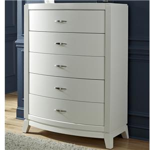 Vendor 5349 Avalon II 5 Drawer Chest