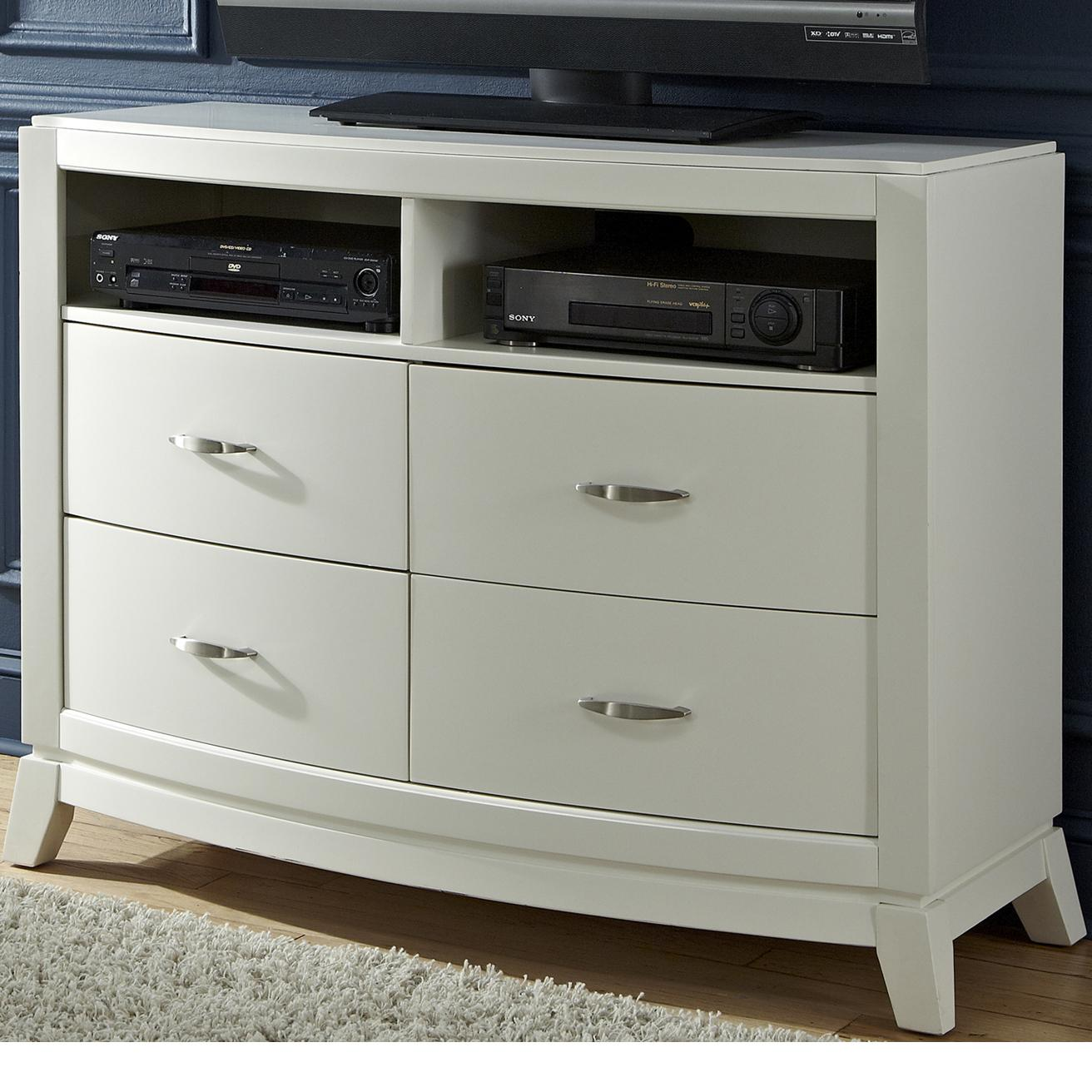 Liberty Furniture Avalon II Media Chest - Item Number: 205-BR45