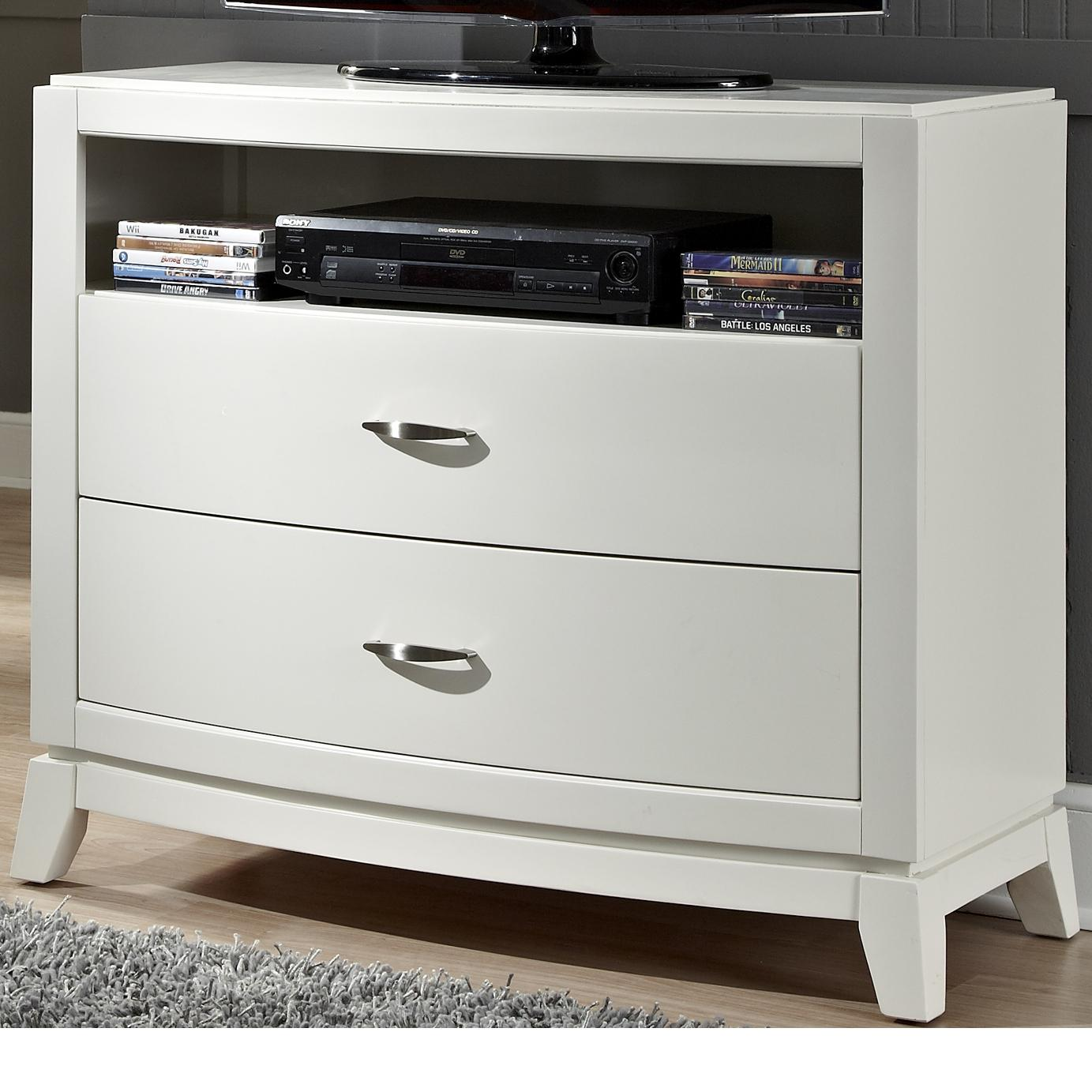 Liberty Furniture Avalon II Media Chest - Item Number: 205-BR49
