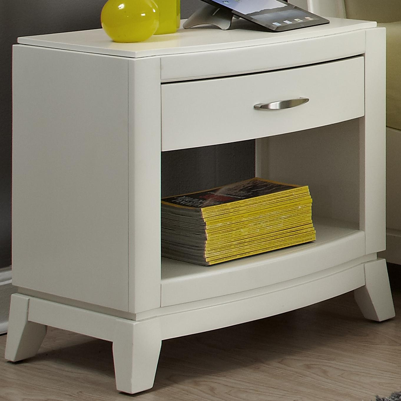 Liberty Furniture Avalon II Night Stand - Item Number: 205-BR60