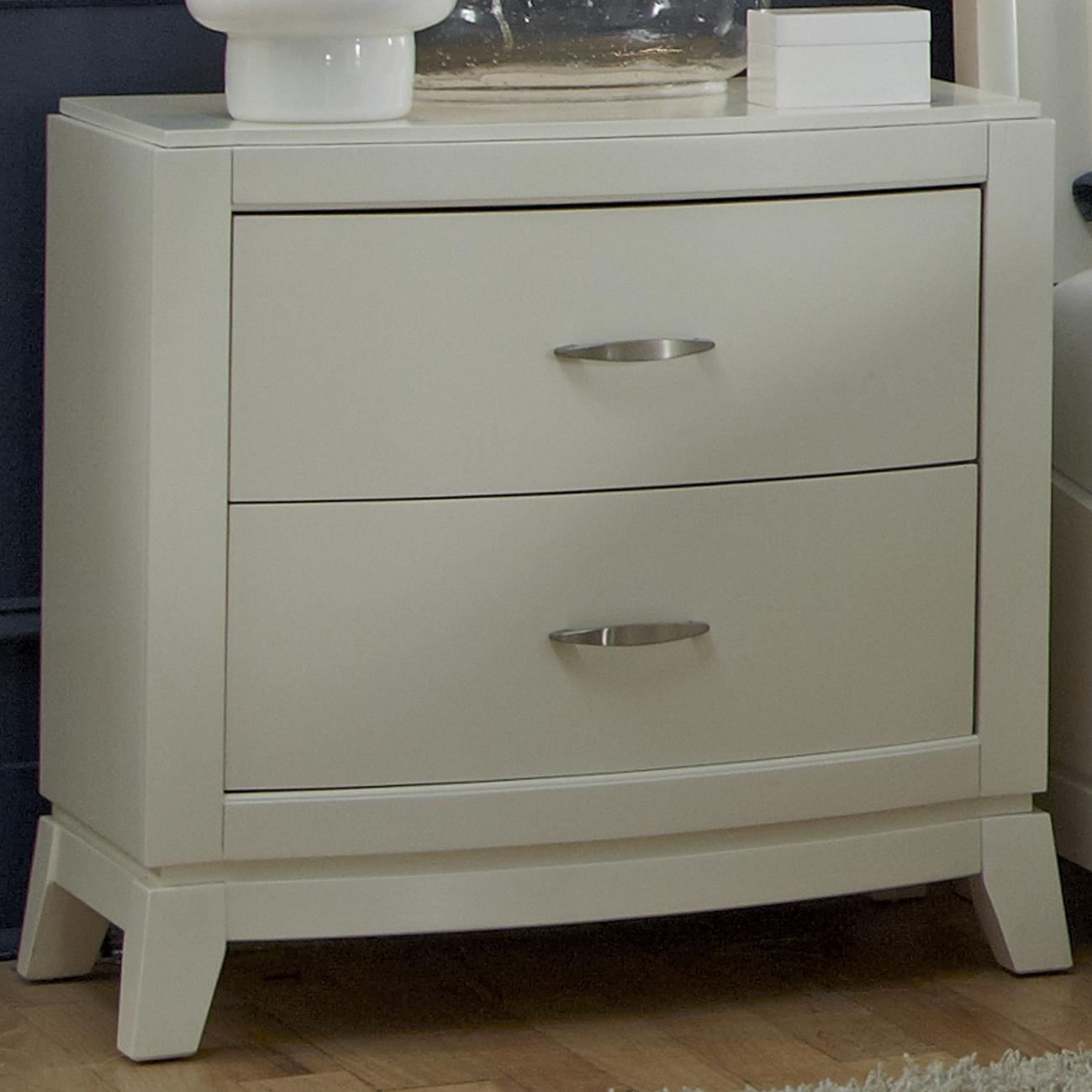 Liberty Furniture Avalon II Night Stand - Item Number: 205-BR61