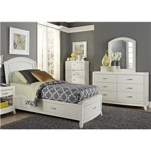 Vendor 5349 Avalon II Full Storage Bedroom Group 1
