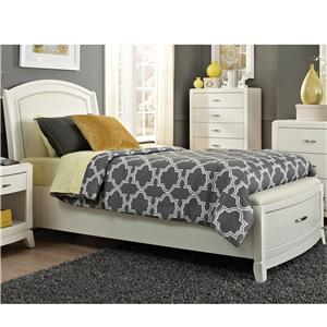 Vendor 5349 Avalon II Twin Storage Bed
