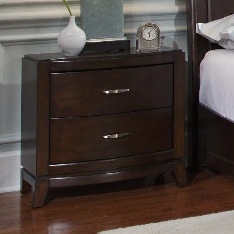 Liberty Furniture Avalon 2-Drawer Nightstand - Item Number: 505-BR61