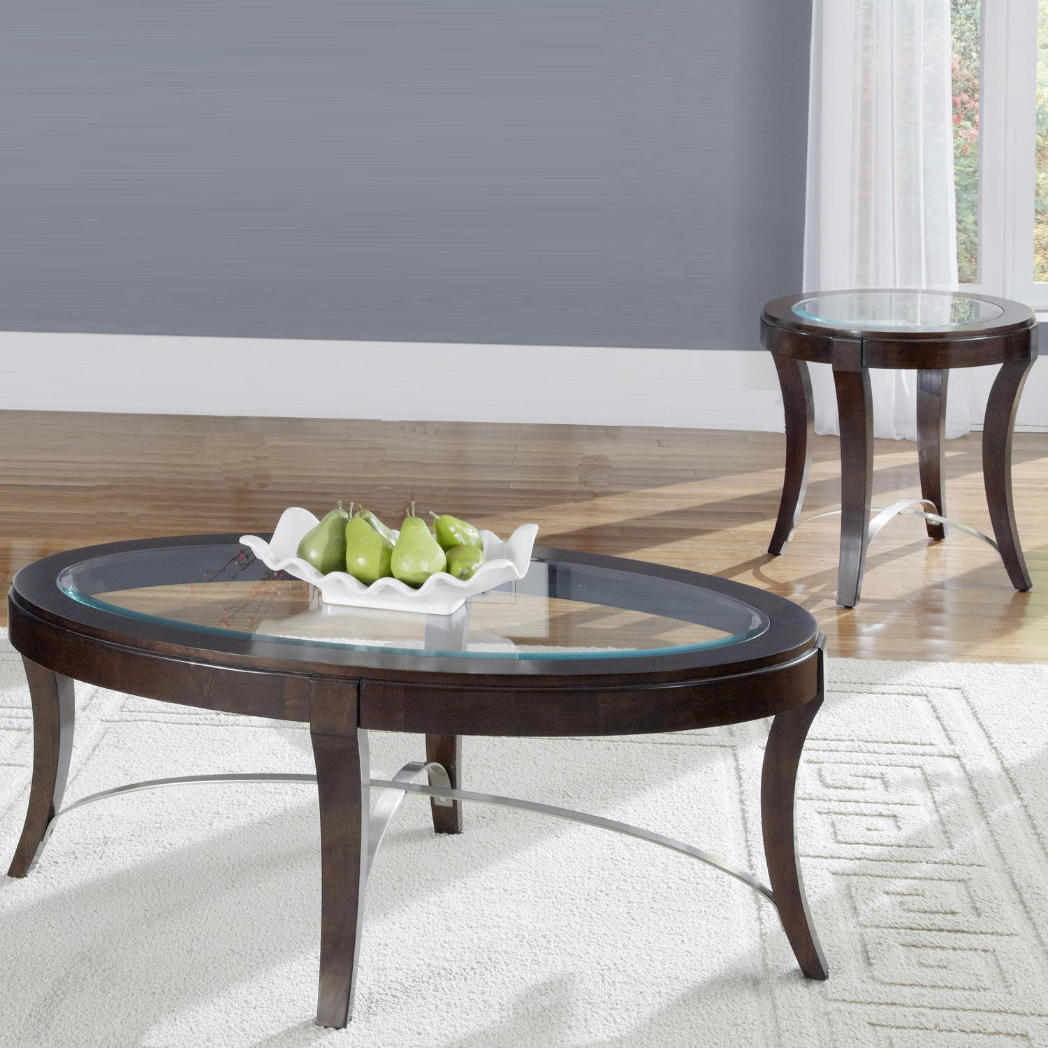 Liberty Furniture Avalon 3-Piece Table Set - Item Number: 505-OT-SET05