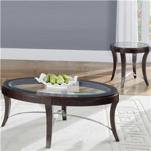 Liberty Furniture Avalon 3-Piece Table Set