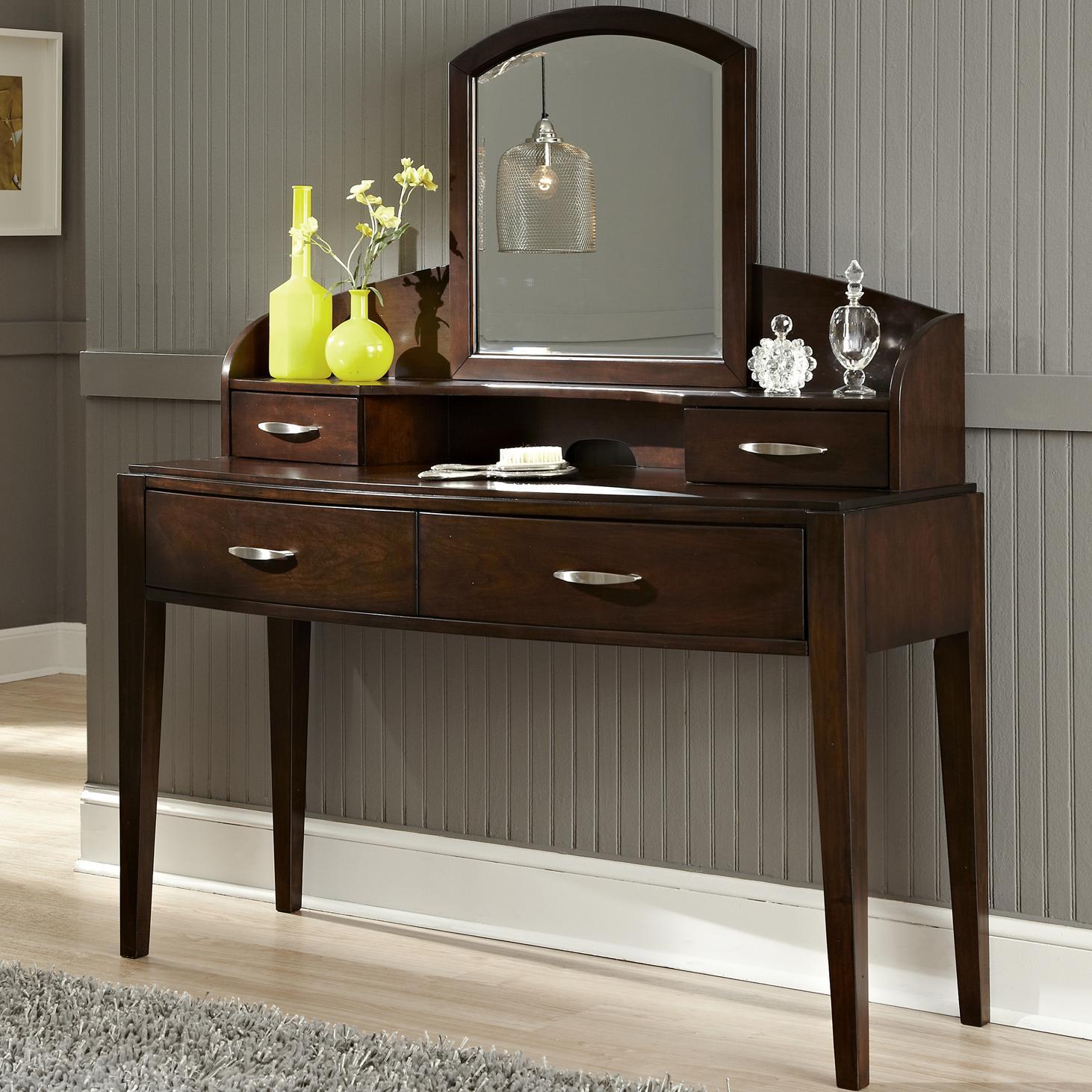 Liberty Furniture Avalon Vanity - Item Number: 505-YBR-SD