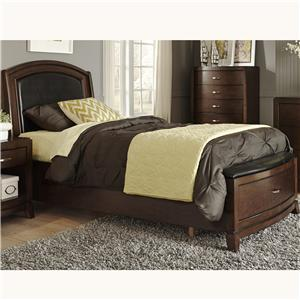 Liberty Furniture Avalon Twin Storage Bed